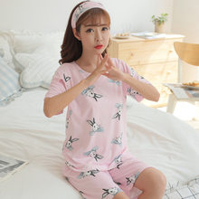 03789ebea8b66 Pengpious 2018 Summer Short Sleeve Postpartum Women Sleepwear for Nursing  Cotton Breastfeeding Tops+shorts Maternity Clothes Set