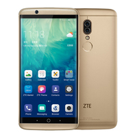 ZTE Axon7S A2018 Axon 7s 4G Smartphone Snapdragon 821 4GB+128 2.0mp Android 6.0 5.5 2K Screen Dolby Sound HIFI mobile phone