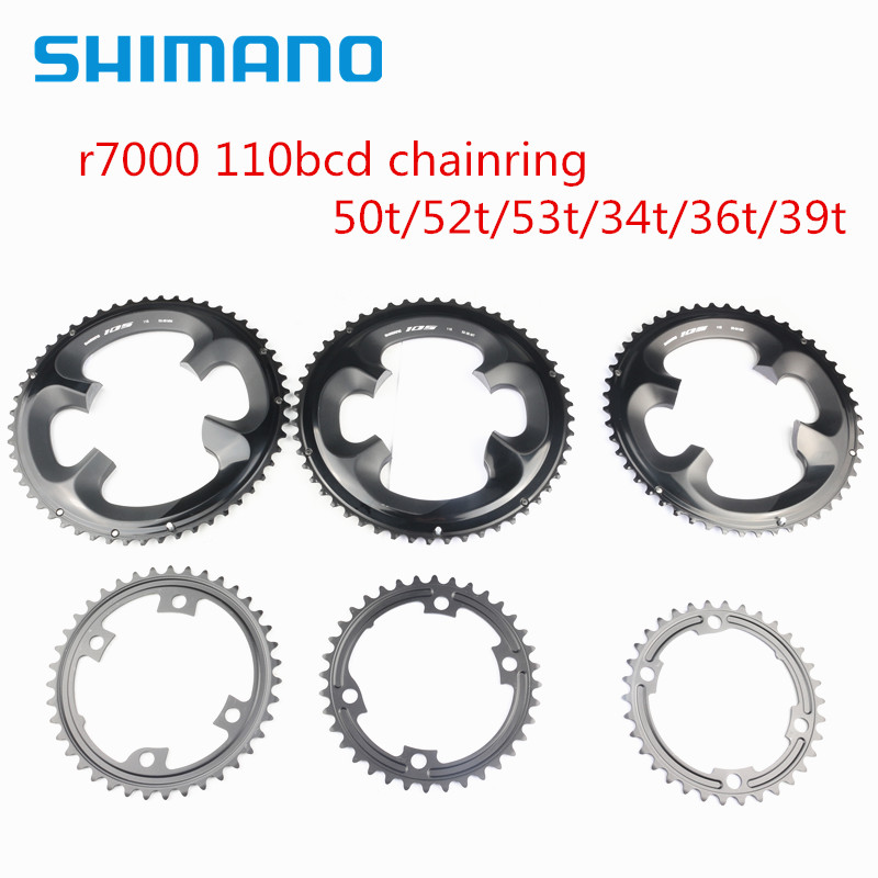 Shimano 105 r7000 bicicleta de estrada corrente 110bcd 50t 52t 53t 34t 36t 39t para r7000 r8000 cárter