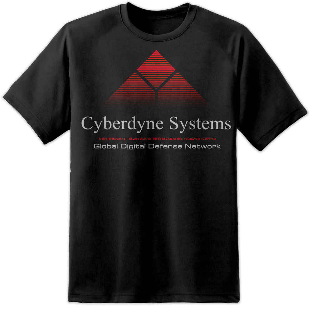 Cyberdyne Systems Terminator Logo Movie T Shirt (S-3XL) Retro Predator Aliens  Cool Casual pride t shirt men Unisex New