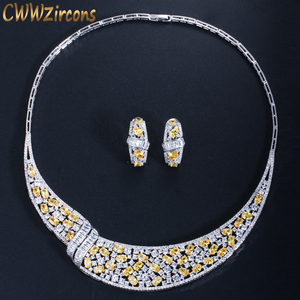 CWWZircons Luxury Yellow Cubic