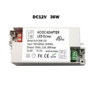 Image 3 - Transformatory LED 12V AC110V 220V do DC12V adapter do zasilacza do 6W 15W 30W 36W 60W taśmy LED żarówki do użytku domowego