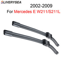 SLIVERYSEA Specific-Fit Wiper Blade For Mercedes E W211 S211 2002-2009 26+26 Car Accessories Auto Wipers CPA114-2