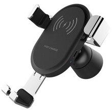 Wireless Caricabatteria Da Auto Adattatore Per Il Telefono Mobile 8 8 più di x xs Per Samsung Galaxy S9 S8 Auto Caricatore Rapido carica 3.0