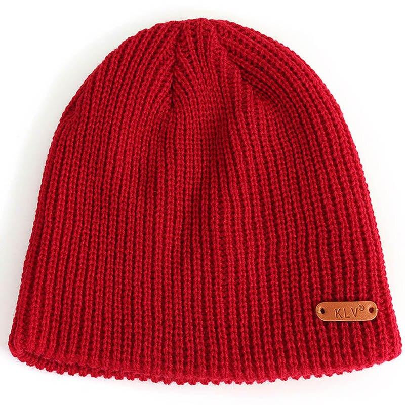 Fall Winter Women Men Knitted Hat Breathable Folding Portable Windproof Cap