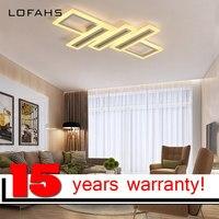 LOFAHS умный дом современный светодиодный Потолочные светильники для гостиной столовой спальня с пультом дистанционного управления потолочн