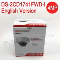 In Stock English Version DS 2CD1741FWD I Replace DS 2CD2745F IS 4MP Network Dome IP Camera