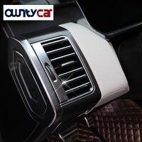 22 pçs/set ABS Chrome Interior Acessórios de Ar Condicionado Tomada Tiras de Guarnição Para Land Rover Range Rover Sport 2014 2017 RRSport abs chrome chrome accessories range rover trim -