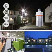 hot deal buy ns 100w outdoor led lighting street lamp path way light 150lm/w led corn bulb with cover ip64 e27 led bulb