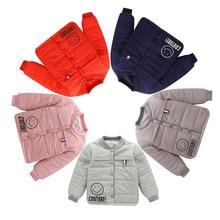Winter Warm Jacket Kids Tops for Girls Boys Cartoon Wind Break Coat 3 4 5 6 7 8 9 10 Year