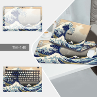 Laptop Sticker Mouse Pad Sets Skin For Dell Inspiron 15MF 15 7579 For Inspiron 14 3468