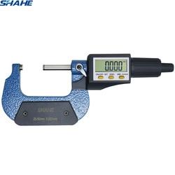25 50mm cyfrowy mikrometr 0.001mm elektroniczny mikrometrów suwmiarka z opakowanie detaliczne mikronów zewnętrzny mikrometr|Mikrometry|Narzędzia -