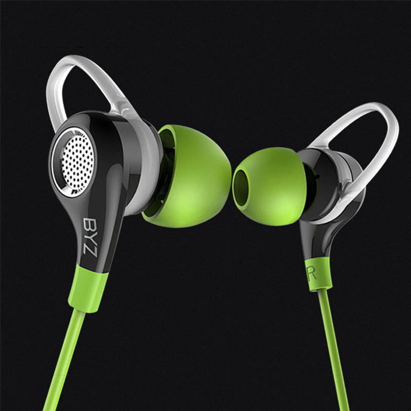 BYZ K38 Sport In Ear Earphones for Mobile Phone Stereo Running Earbuds with Mic DJ BASS Earphone HiFi Headset Universal Wired s glaupsus gj01 in ear 3 5mm super bass microphone earphones earplug stereo metal hifi in ear earbuds for iphone mobile phone