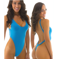 Women S Thongs Swimsuits Swimming Suit New Arrival Sexy High Cut Thong One Pieces Swimwear Sports