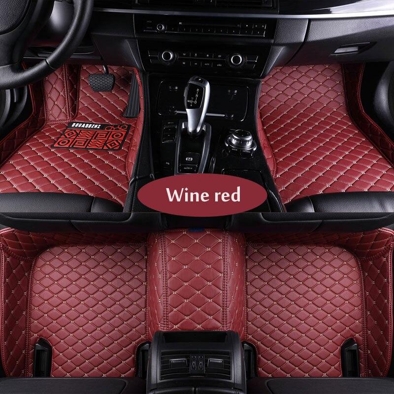 Custom fit car floor mats for Peugeot 206 207 2008 301 307 308sw 3008 408 508 rcz car styling carpet floor liner 3d styling car seat cover for peugeot 206 207 2008 301 307 308sw 3008 408 4008 508 rcz high fiber leather