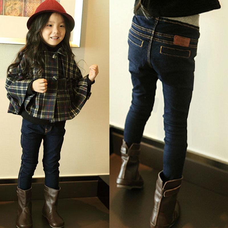 ropa para nios primavera nuevas chicas etiquetas pies lpices de primavera y otoo pantalones vaqueros