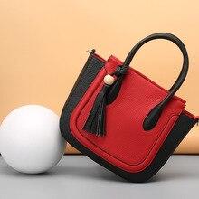 High-quality Genuine Leather Handbags Women Bag Shoulder Bag 2016 New Women's MImi Tote Bags Ladies Casual Design Handbags