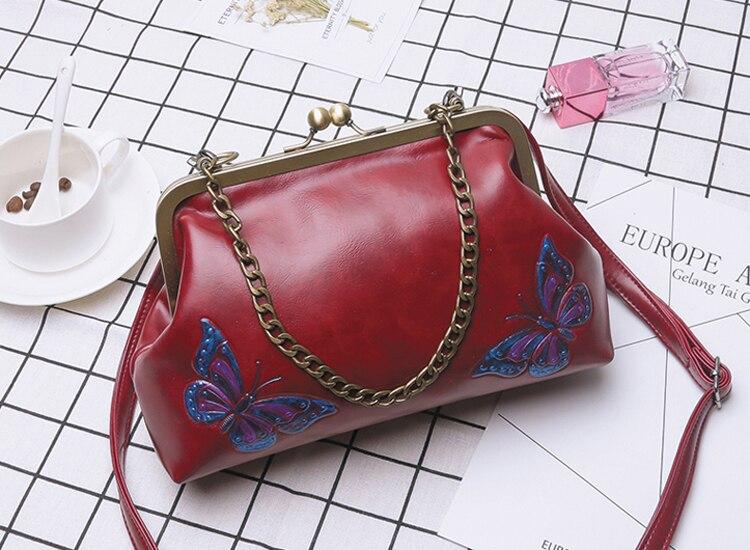 Women Handbags PU Leather Shoulder Crossbody Bags Handbag Female vintage fashion Famous Brand Women Bags (17)