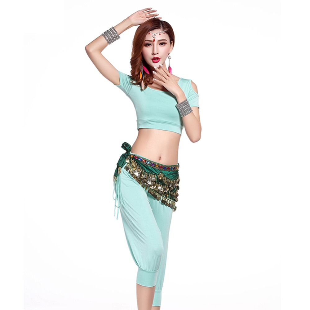2017 Women Belly Dance Costumes Set 2Pcs 3Pcs Top Pant Belt Modal Bollywood Genie Costume Professional Clothing For Dance FF6106-in Belly Dancing from ...  sc 1 st  AliExpress.com & 2017 Women Belly Dance Costumes Set 2Pcs 3Pcs Top Pant Belt Modal ...