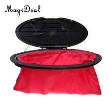 MagiDeal 20′ Large Hatch Cover Lid Deck Plate Kit w/ Waterproof Storage Bag for Marine Boat Kayak Water Sport-Durable Portable