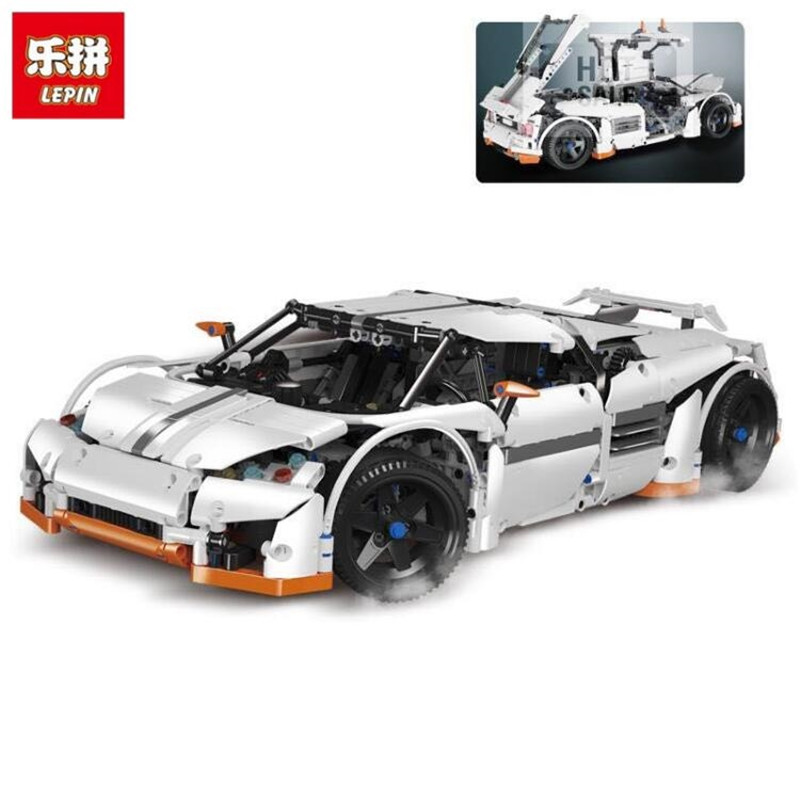 Lepin 20052 1950Pcs Technic Series The Predator Supercar Set MOC-2811 Building Blocks Bricks Educational Christmas Toys for lepin 20052 the predator supercar set moc 2811 diy building blocks bricks children educational toy christmas gift lepin technic