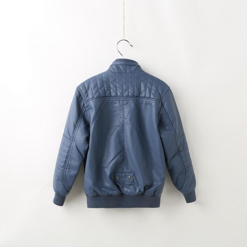 Здесь продается  JKP 2018 Winter thick Faux  leather jacket children fashion coat children