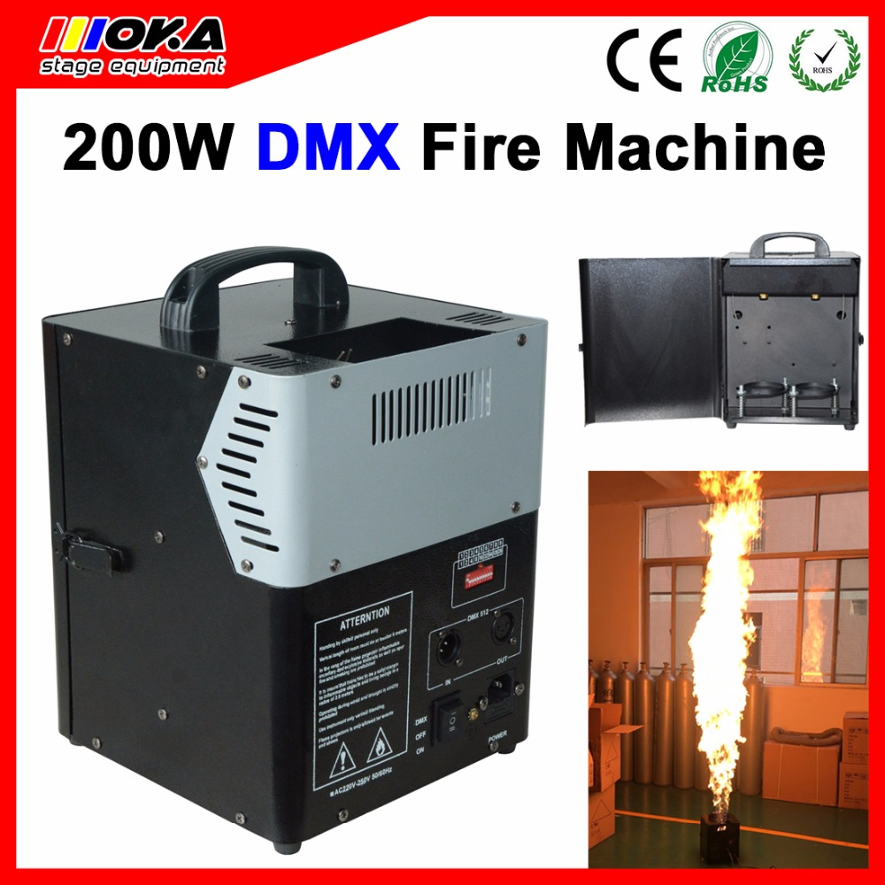 Stage special effects Stage light DMX Fire Projector Machine flamethrower machines Spary 3M Stage Fire Machine dmx lpg fire machines controller for flame machine dmx outdoor events for party ktv stage performance special effects