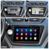 2din  Android 8.1 car radio  multimedia player gps navigatio for Kia RIO 3 4 Rio 2010 2011 2012 2013 2014 2015 2016 2017 2018 2