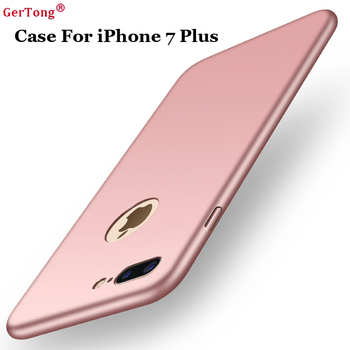 GerTong Fashion Design Ultra Slim Plastic Cell Phone Bags Case For iPhone 7 Plus PC Hard Back Cover Shield For iPhone 7 Cases Сотовый телефон