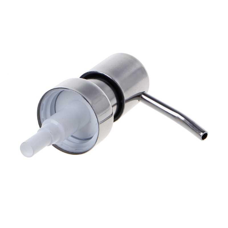 Ze stali nierdzewnej stalowy dozownik do mydła dysza 12 OZ zbudowany w pompka do balsamu do rąk montażu
