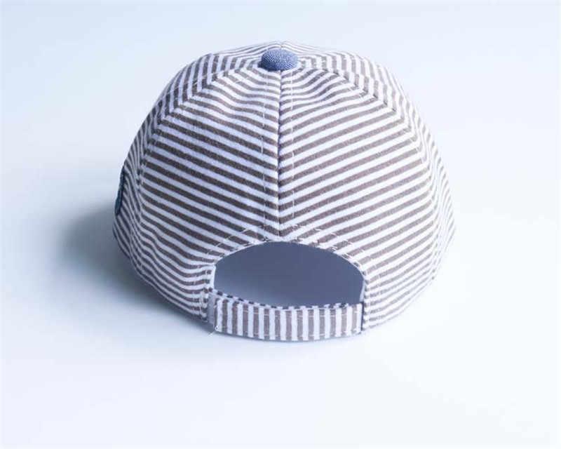 קיץ תינוק כובע כותנה תינוקות חמודים כוכב פסים רך מרזבים בייסבול כובע כובע בייבי בנות שמש כובע