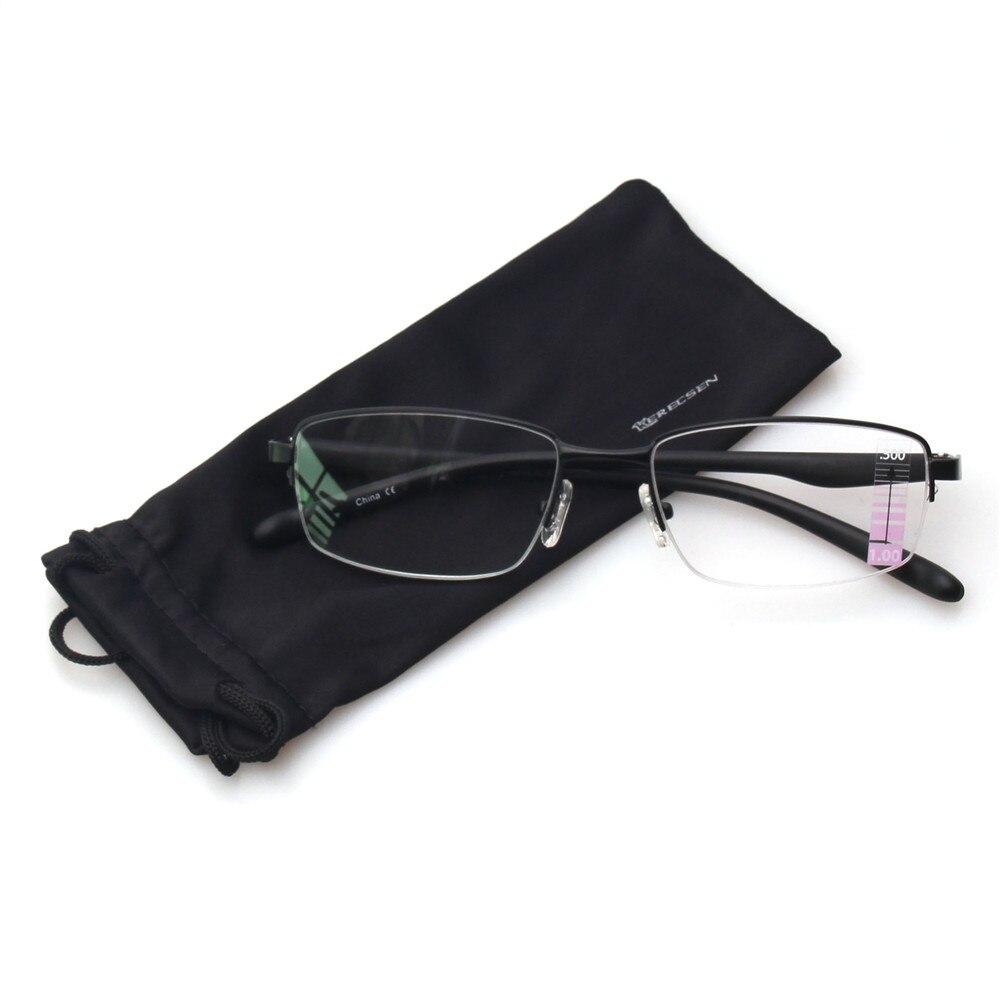 de29fe49f7 Gafas de lectura múltiple progresivo en los lectores comodidad de Metal  marco medio de Multifocus gafas para hombres y mujeres