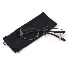Reading Glasses Progressive Multiple Focus Readers Comfort Metal Half Frame Multifocus Glasses for Men and Women