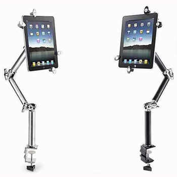 Multifunction 360 Degree Flexible Scalable Arm Tablet Phone Car Stand for Iphone Ipad Lounger Bed Desktop Tablet Holder Stands
