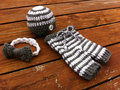 free shipping,Baby stripe Beanies / hat,Bow tie with matching Pants baby set.newborn crochet Photography Props 100% cotton