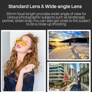 Image 3 - Objectif grand Angle YONGNUO YN35MM F1.4 pour objectifs de caméra reflex numérique à ouverture lumineuse Canon pour objectif Canon 600D 60D 5DII 5D 500D 400D