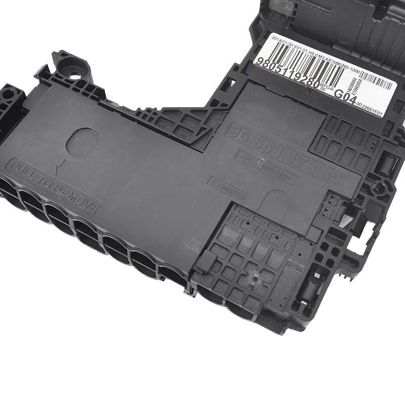 brand new genuine fuse box bpga battery module 9805119280 9666817380  for peugeot 508 citroen c4l c5