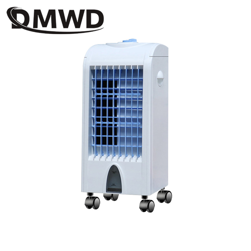 DMWD Portable Strong Wind Electric Air Conditioning Fan Cooler cooling Fans Humidifier water-cooled chiller Ventilator EU plug dmwd portable strong wind air conditioning cooler electric conditioner fan mini air cooling fans humidifier water cooled chiller