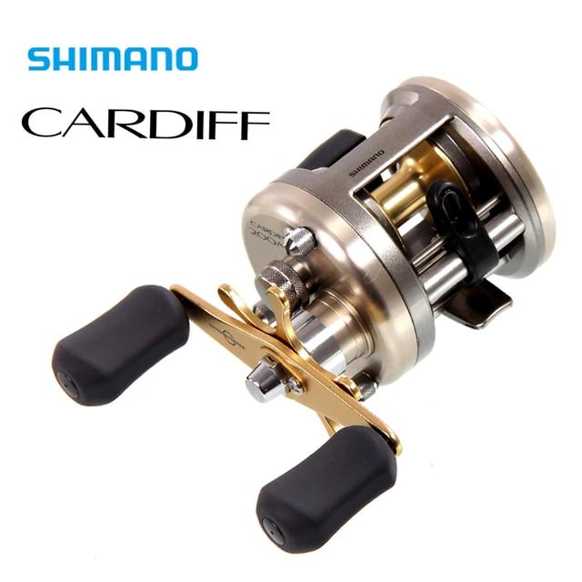 251ef89d0d0 Japan Shimano CARDIFF 200/300/400 Baitcasting Fishing Reel 4+1BB 5.8 ...