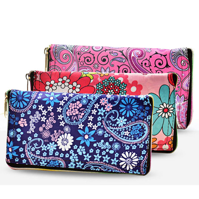 Foldable Wallet Style Reusable Waterproof Women Ping Bag Fl Nylon Tote Travel Beach Bags Free Shipping