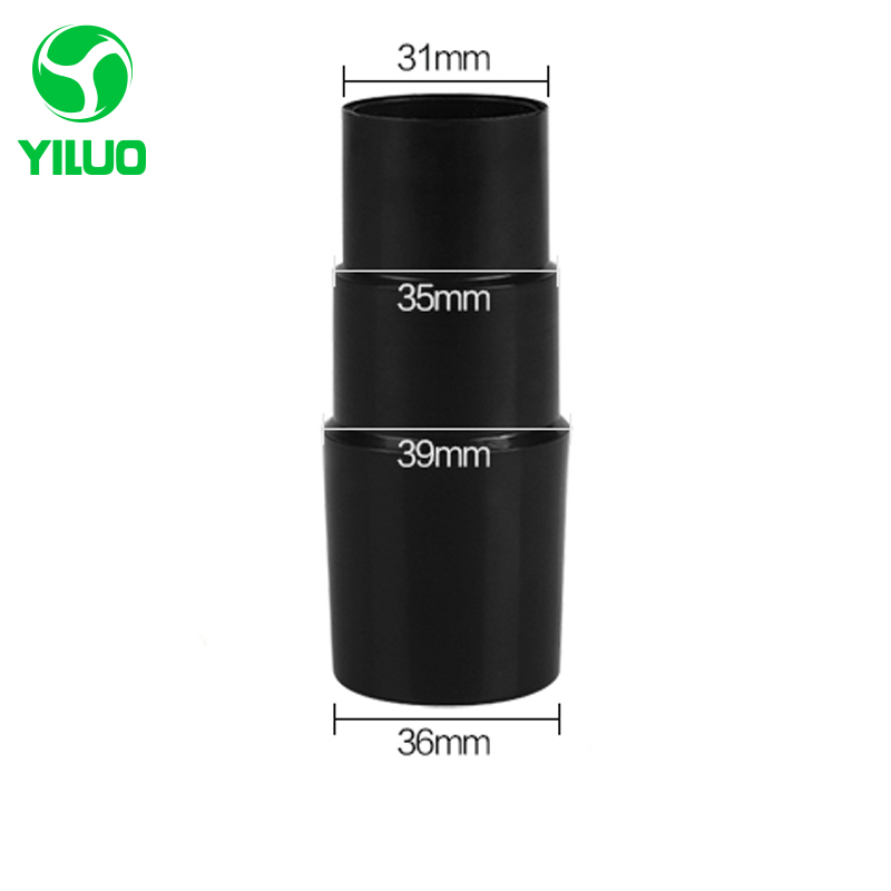 Vacuum cleaner Connector inner diameter 32mm to 35mm ABS Plastic victaulic joint for inner diameter 36 to 39 mm handle vacuum cleaner inner diameter 35mm abs plastic handle connector for accessories idustrial vacuum cleaner