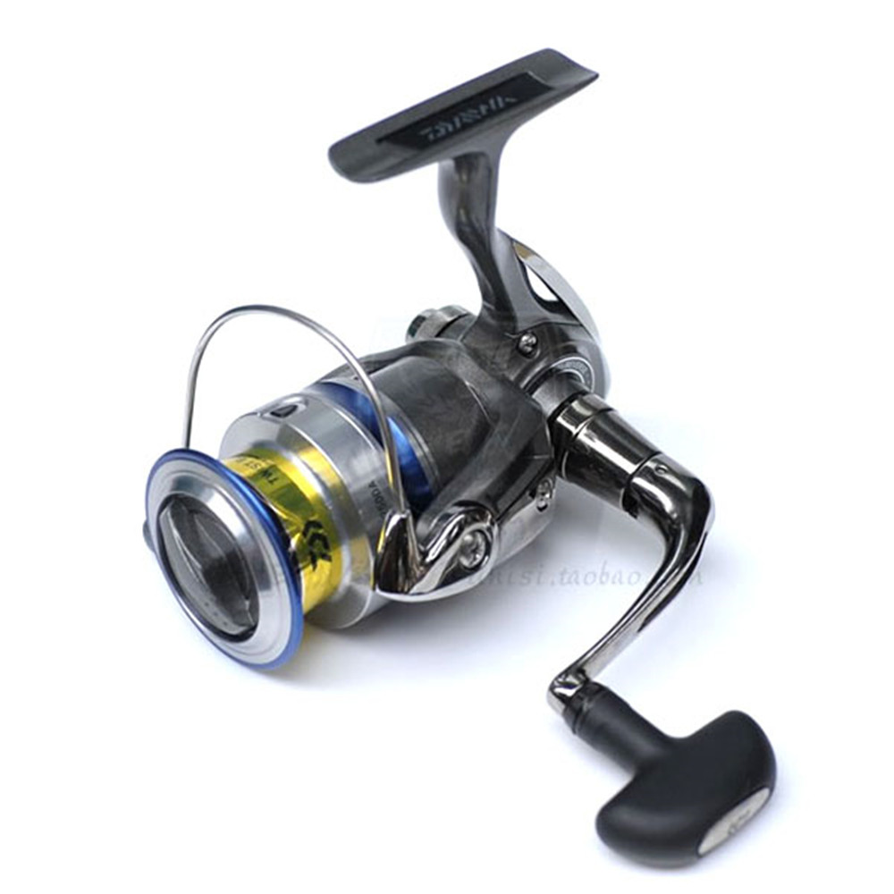ФОТО 2500 3500 4000 Series 4+1 BB 405g Sliver Metal Front Drag Spinning Fishing Reel with Two Metal Spool 5.3:1 Fish Gear