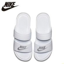 NIKE BENASSI Duo Ultra Original New Arrival Adult Walking Shoes Fashion Breathable Slippers #819717