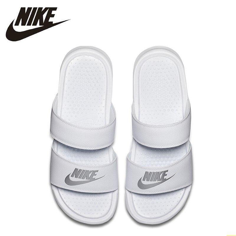 NIKE BENASSI Duo Ultra Original nouveauté adulte marche chaussures mode respirant pantoufles #819717
