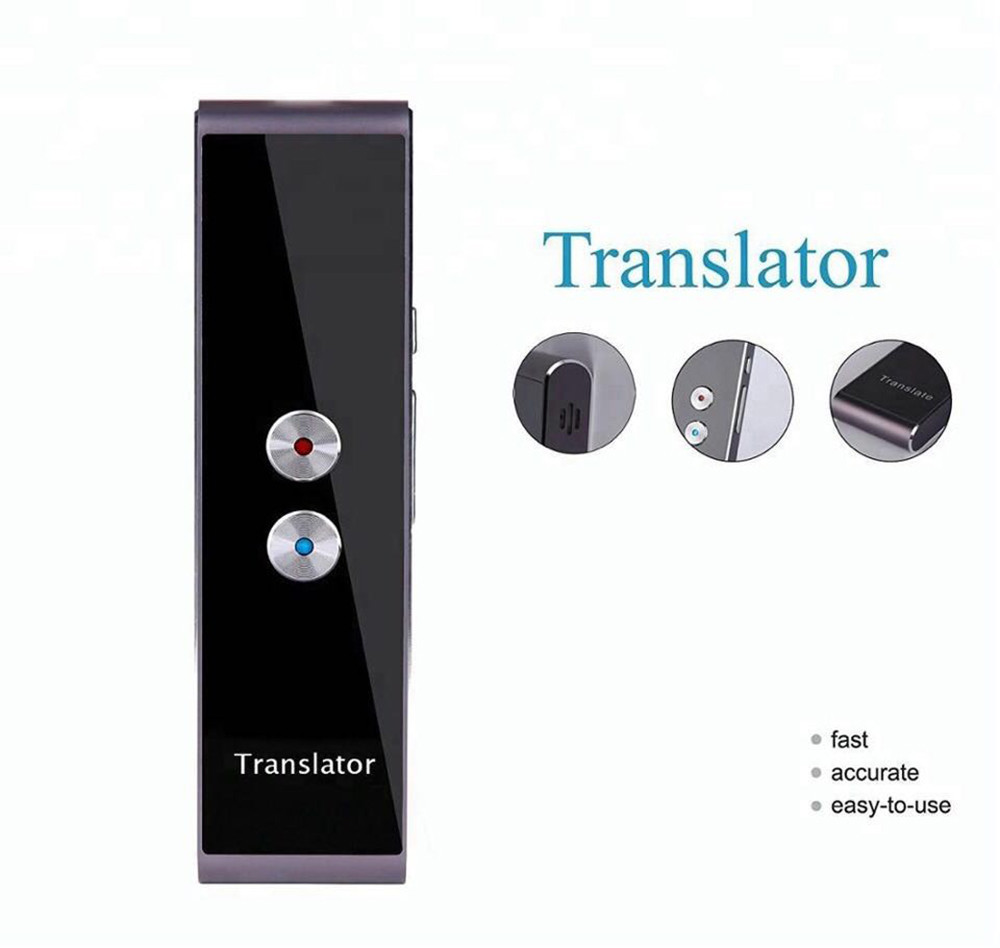 Lingua Traduttore Lingua Portatile Facile Trans Intelligente BT 33 Lingue Vocali voce Traduttore Istante senza Amplificatore Jn.28