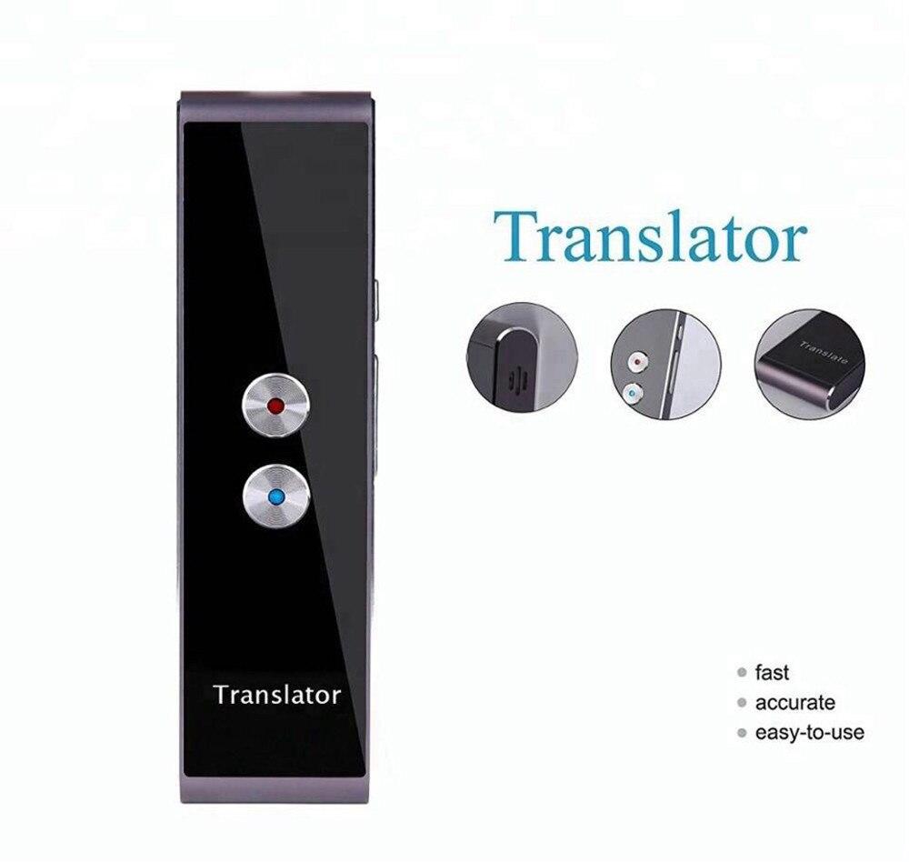 Traducteur de langue Portable Facile Trans Intelligent Langue Traducteur Instantané Voix Discours BT 33 Langues pas D'amplificateur Jn.28