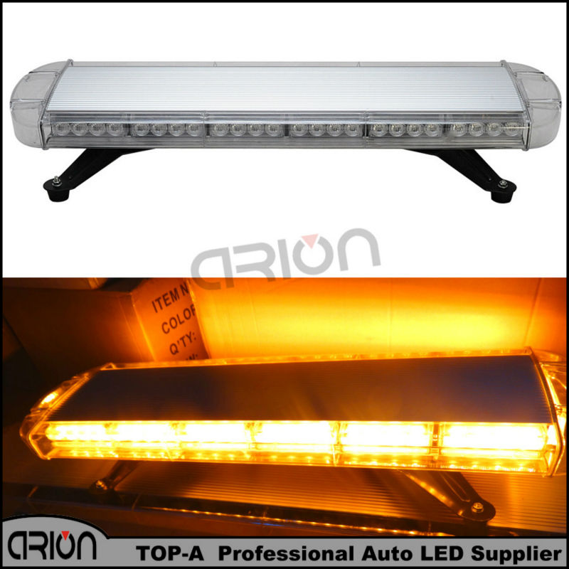 56w 56 led light bar emergency beacon warn tow truck plow response. Black Bedroom Furniture Sets. Home Design Ideas