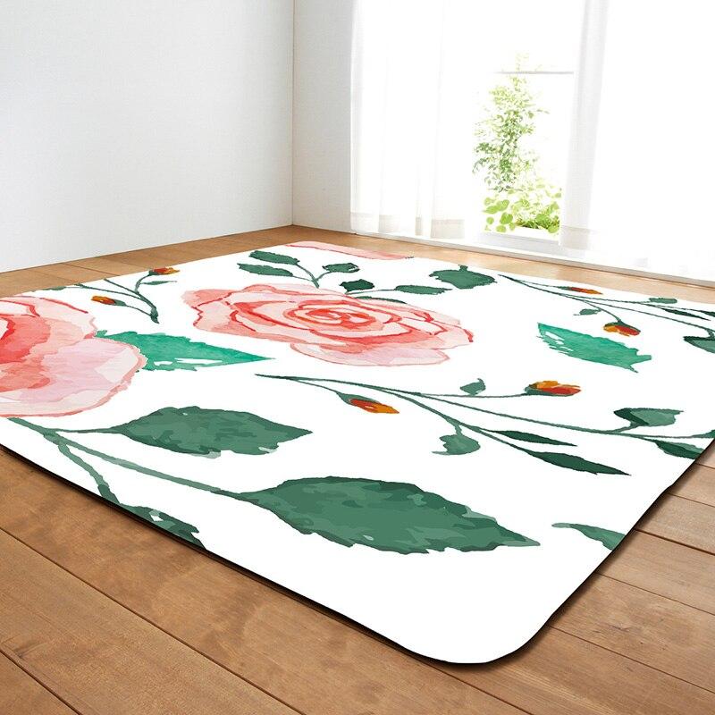 Zeegle Carpets For Living Room Kids Bedroom Mat Home Decor Rugs Decortaion Non-slip Bedroom Floor Mats Sofa Bedside Carpets
