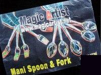 Magic Artist Main Spoon Fork Gimmick Trick Card Magic Magic Tricks Fire Props Dice Comedy