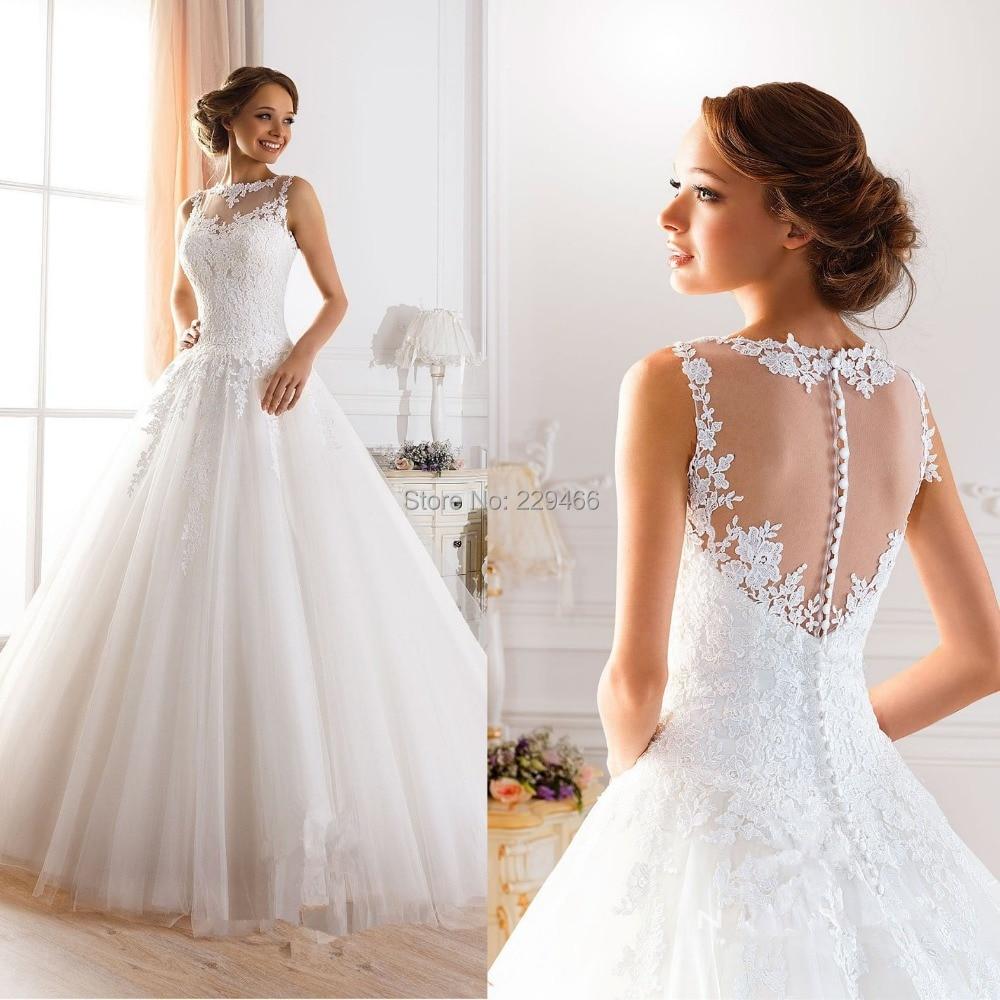 sexy wedding dresses Fast Shipping Vestido De Noiva Vintage Lace Long Wedding Dresses Bridal Dresses Sexy mermaid Wedding Dress
